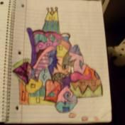 colorful bubble castle