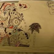 david bowie doodle