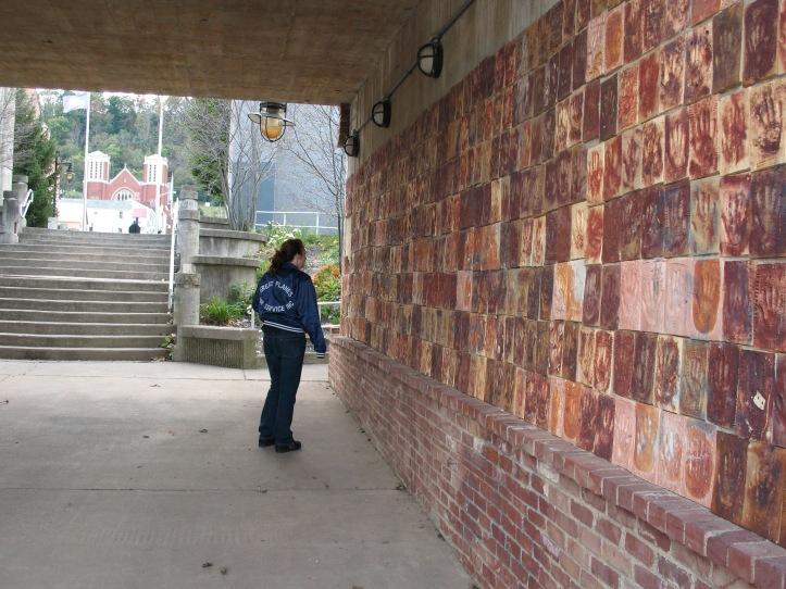 me at hand wall