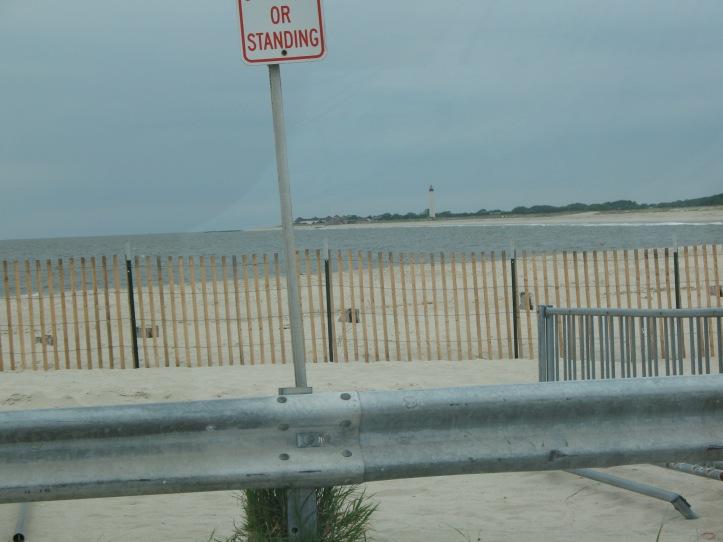 beach & fence
